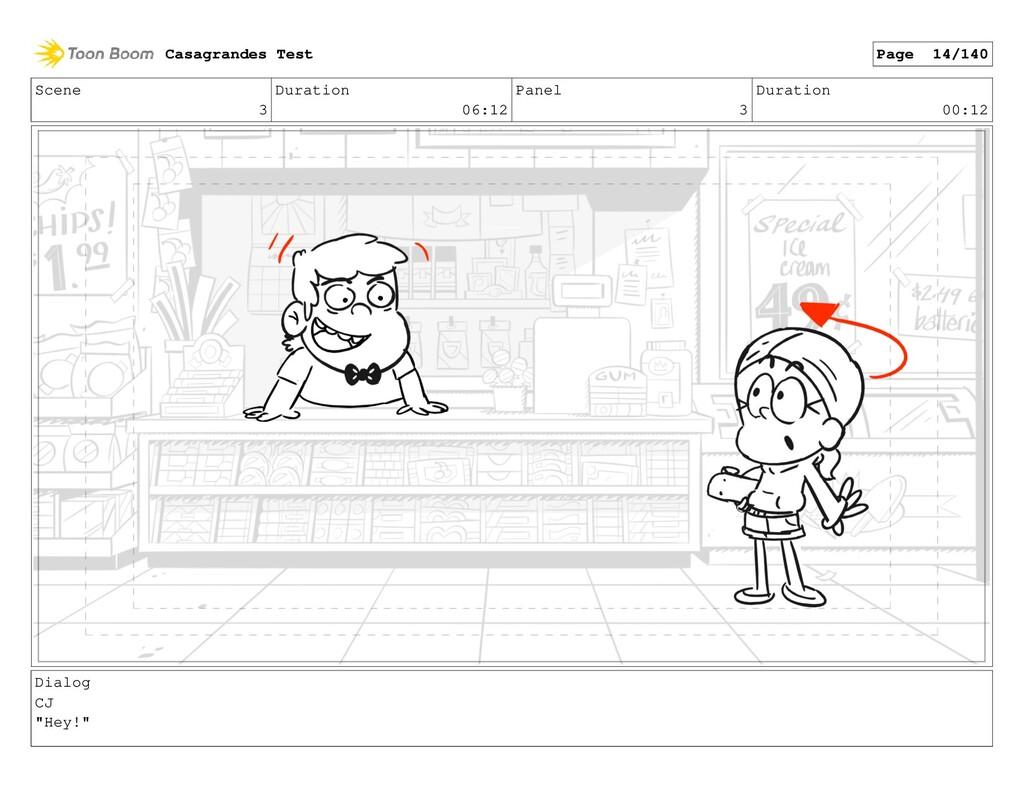 Scene 3 Duration 06:12 Panel 3 Duration 00:12 D...
