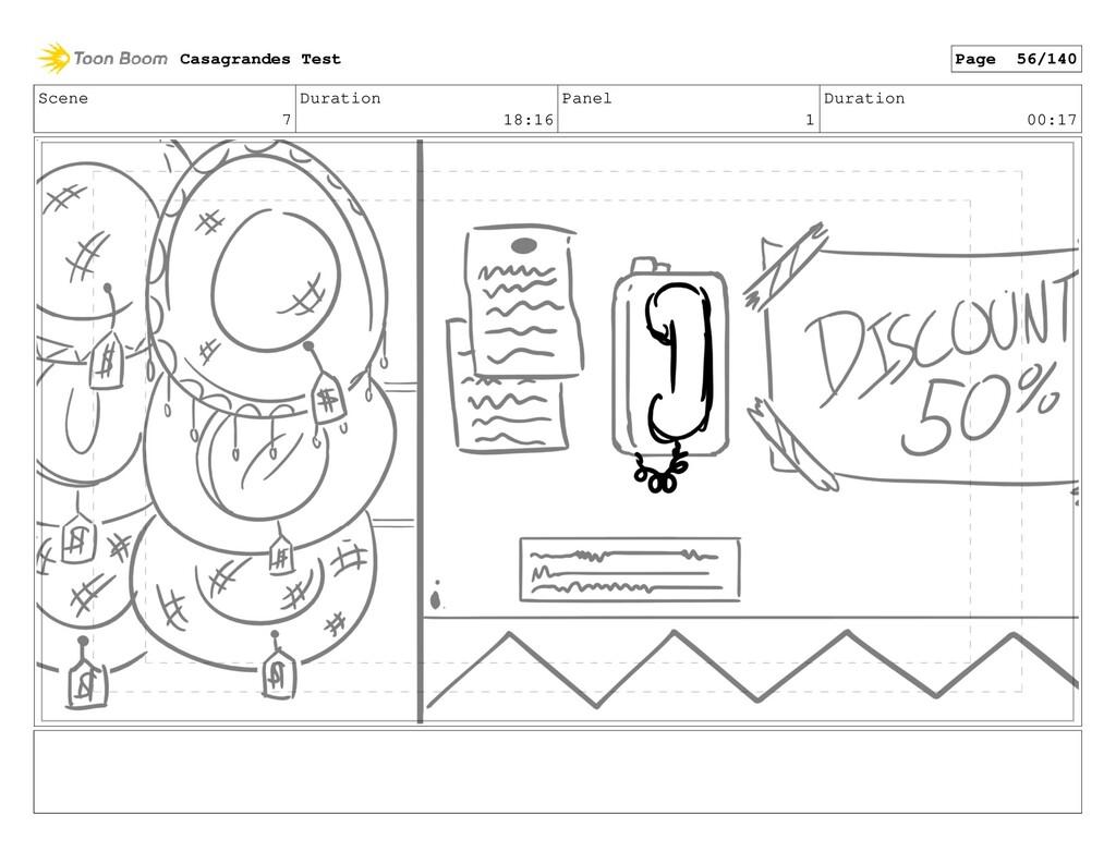 Scene 7 Duration 18:16 Panel 1 Duration 00:17 C...