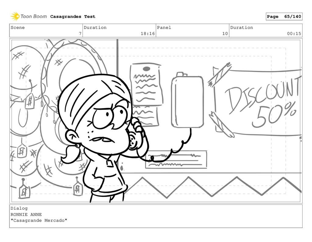 Scene 7 Duration 18:16 Panel 10 Duration 00:15 ...