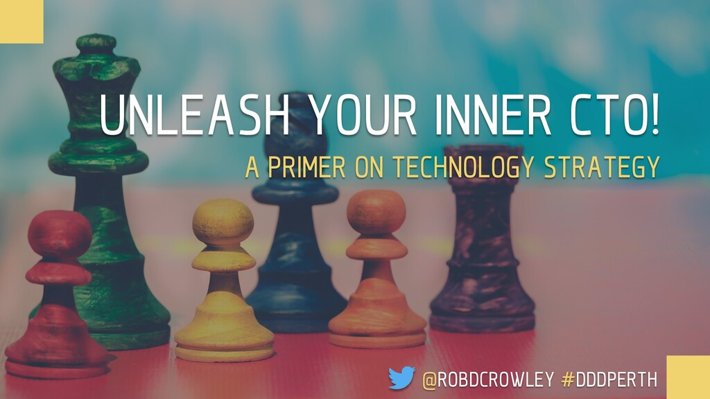 UNLEASH YOUR INNER CTO! A PRIMER ON TECHNOLOGY ...