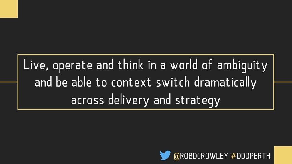QUESTIONS @ROBDCROWLEY #CONFOO