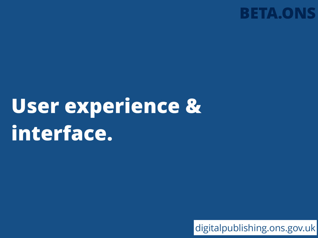User experience & interface. digitalpublishing....