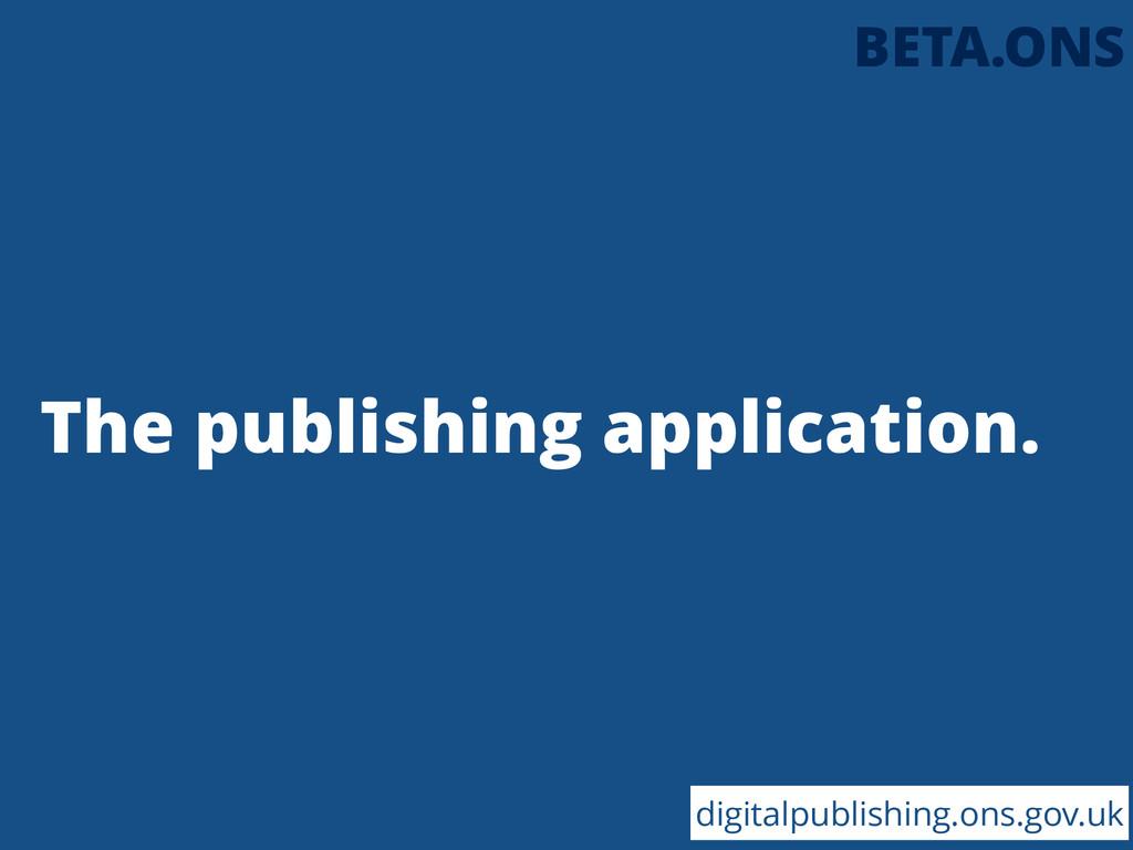 The publishing application. digitalpublishing.o...
