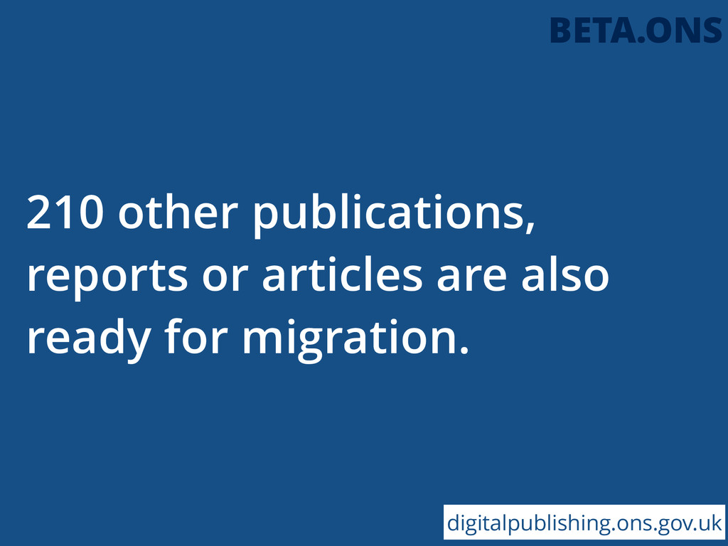 210 other publications, reports or articles are...