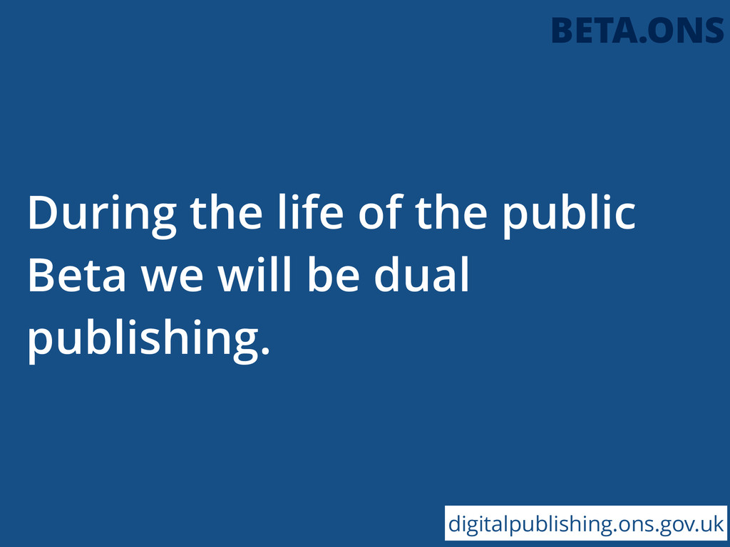 During the life of the public Beta we will be d...