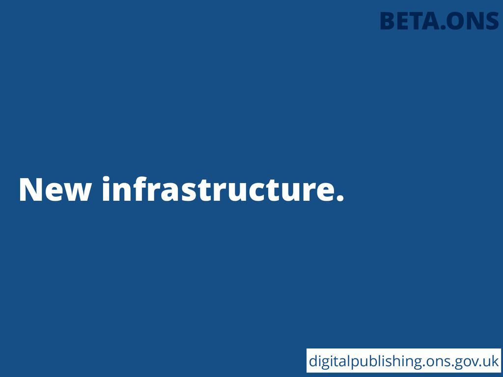 New infrastructure. digitalpublishing.ons.gov.u...