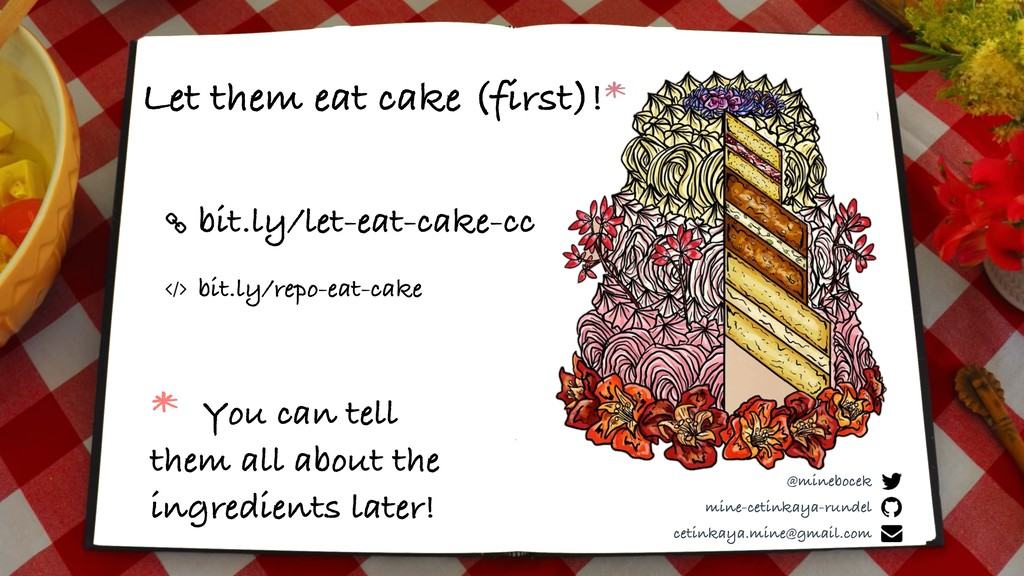 bit.ly/let-eat-cake-cc Let them eat cake (first...