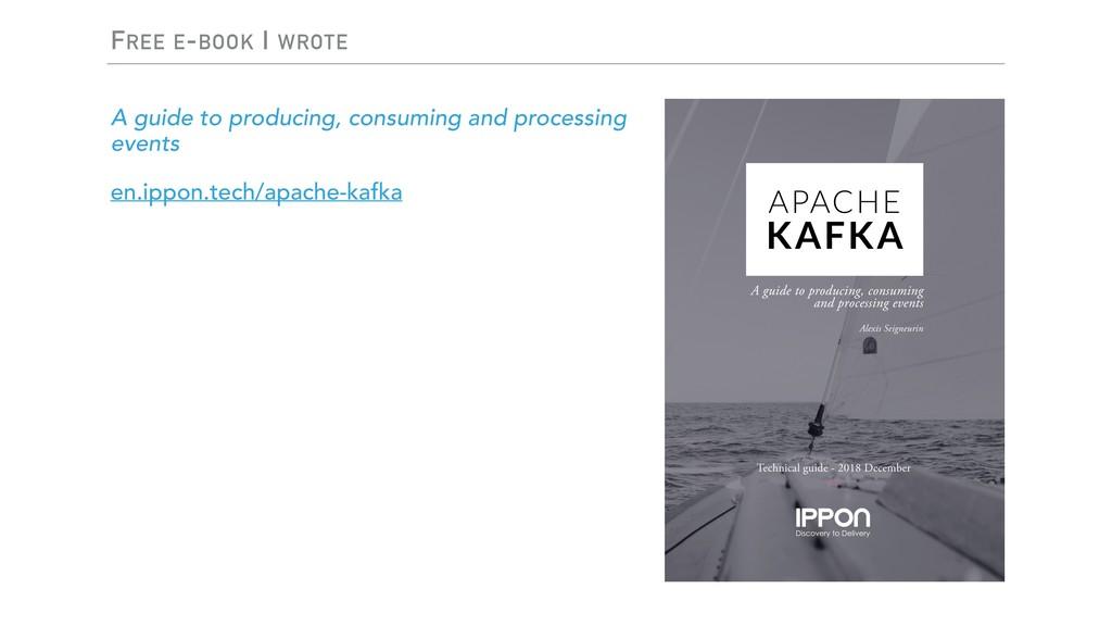 FREE E-BOOK I WROTE A guide to producing, consu...