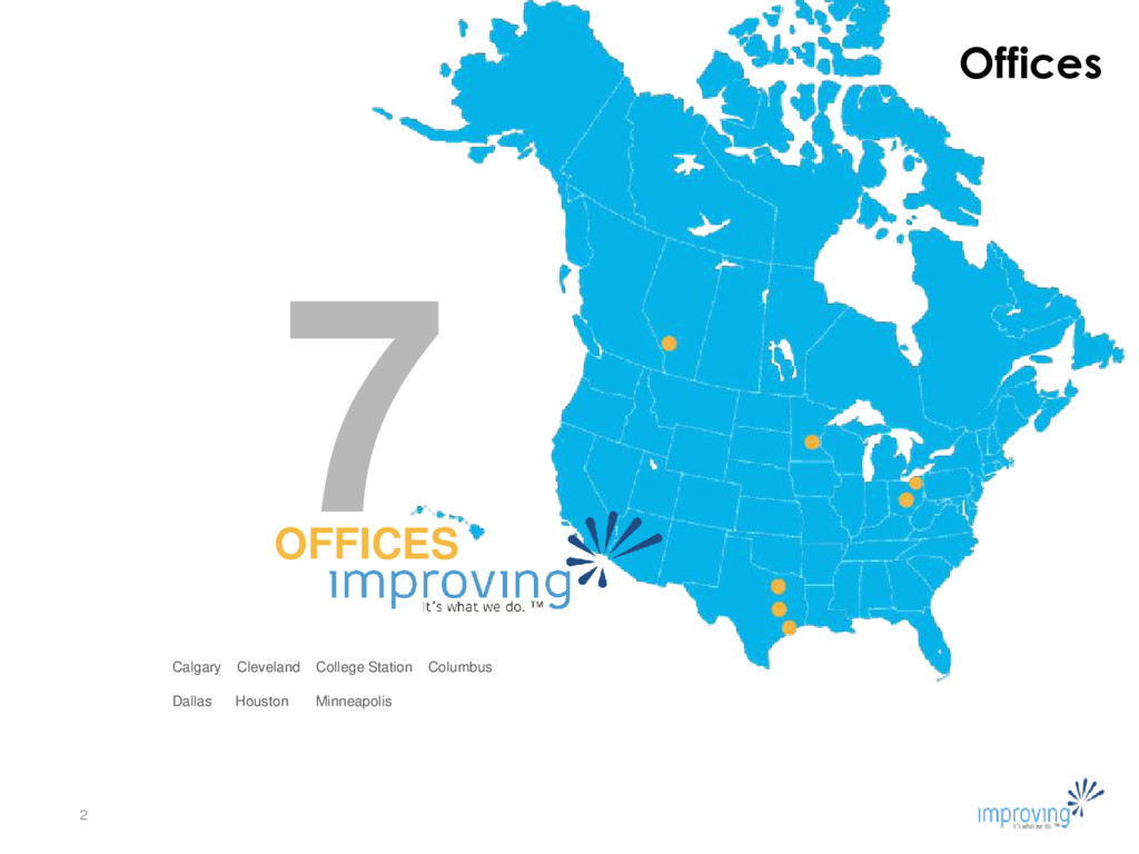 Offices 2 7 OFFICES Calgary Cleveland College S...