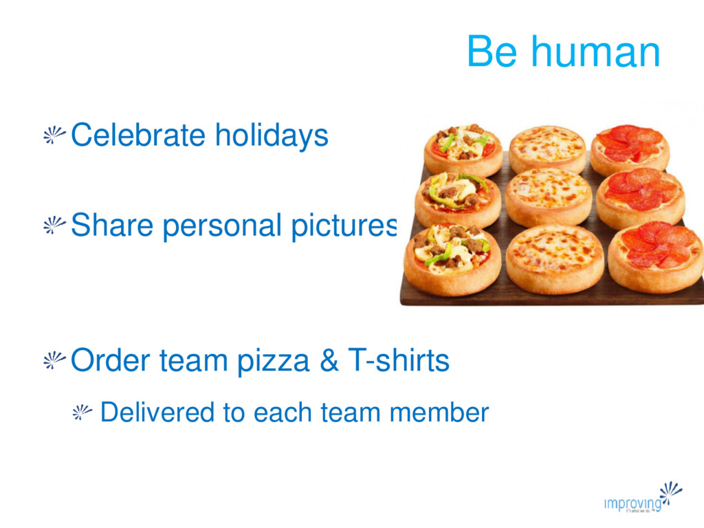 Be human Celebrate holidays Share personal pict...