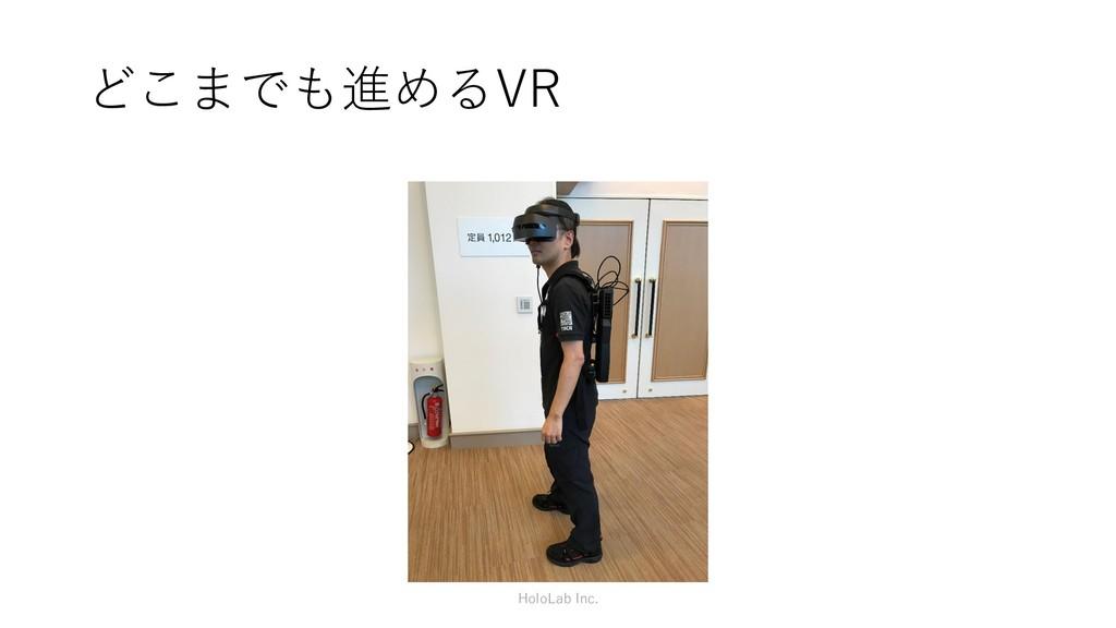 どこまでも進めるVR HoloLab Inc.