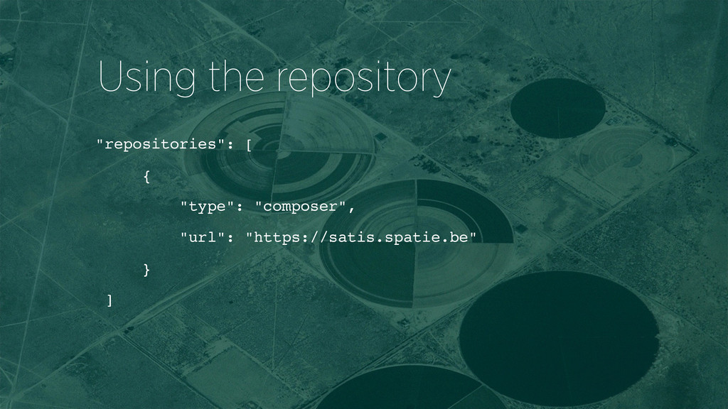 """repositories"": [ { ""type"": ""composer"", ""url"": ..."