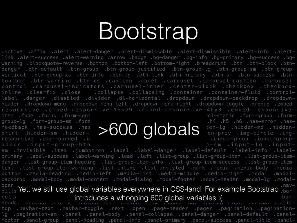 Bootstrap .active .affix .alert .alert-danger ....