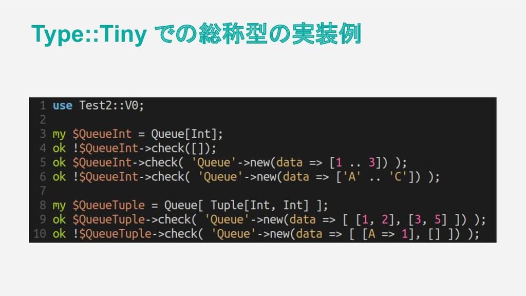 Type::Tiny での総称型の実装例