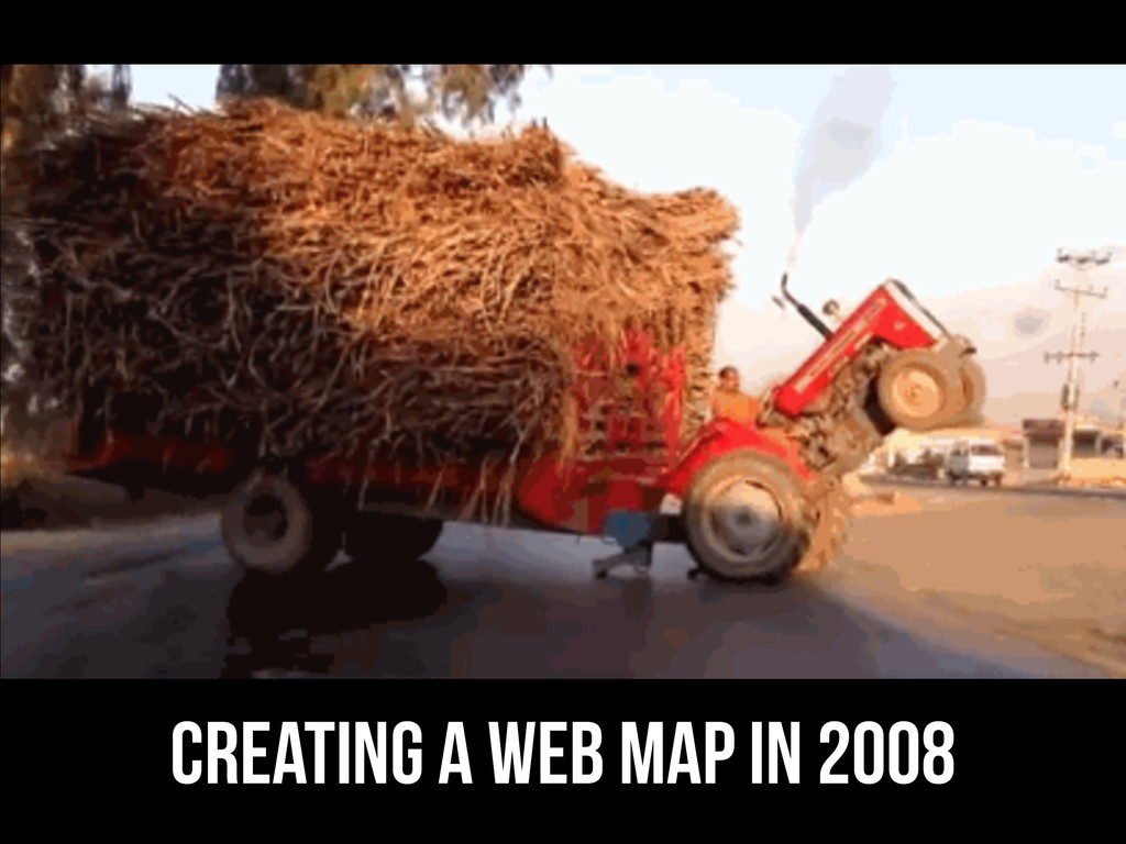 creating a web map in 2008