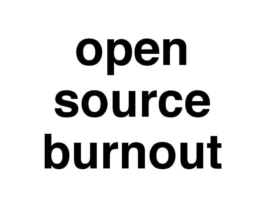 open source burnout