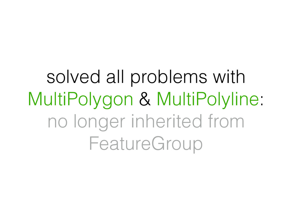 solved all problems with MultiPolygon & MultiPo...