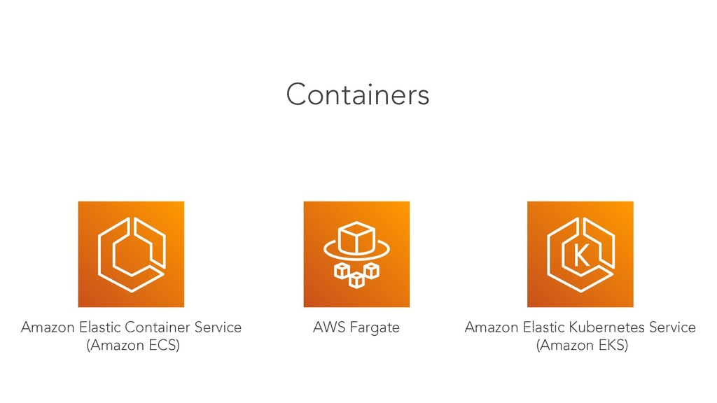 Containers Amazon Elastic Kubernetes Service (A...