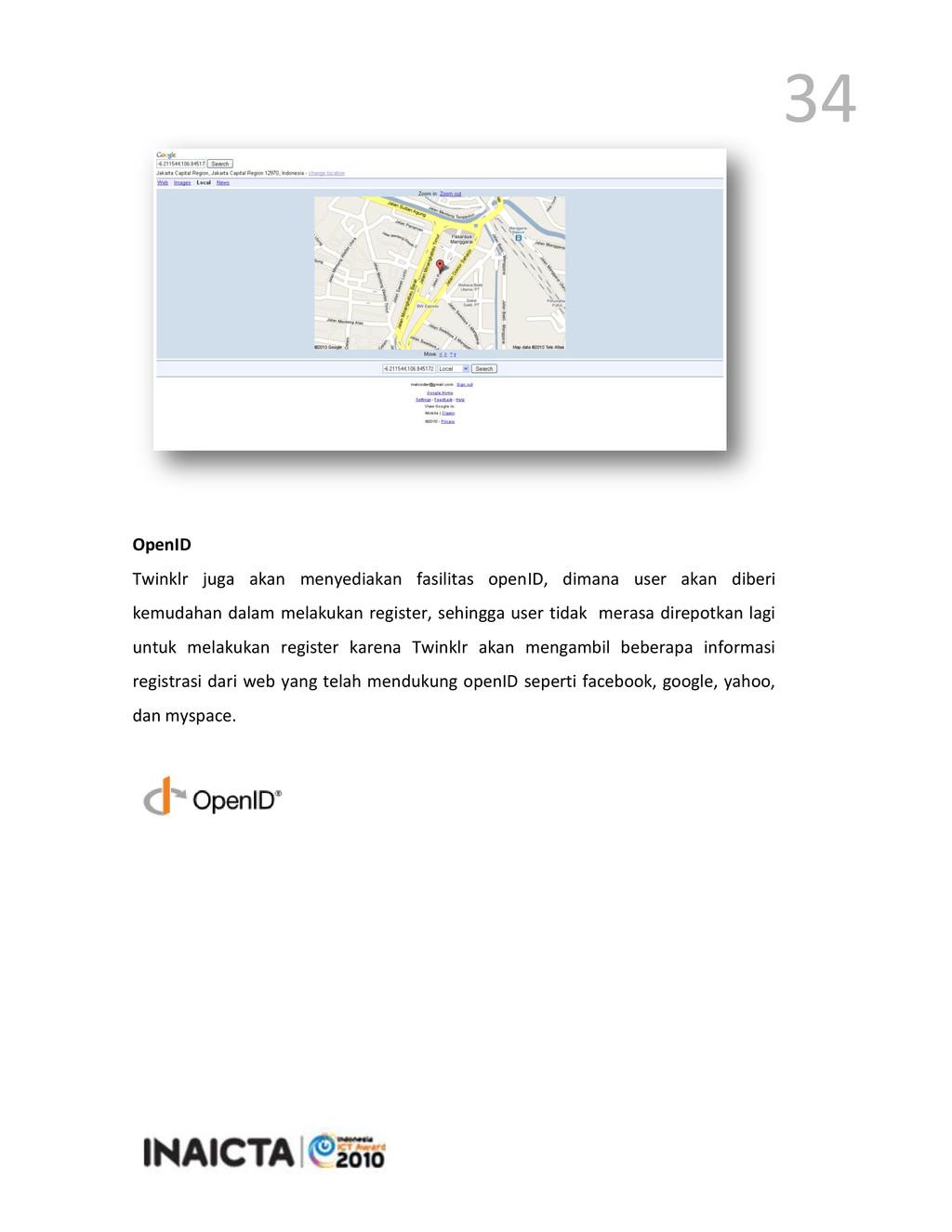34 OpenID Twinklr juga akan menyediakan fasilit...