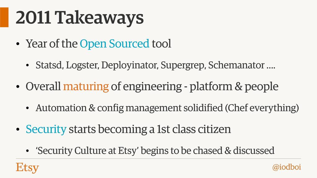 @iodboi 2011 Takeaways • Year of the Open Sourc...