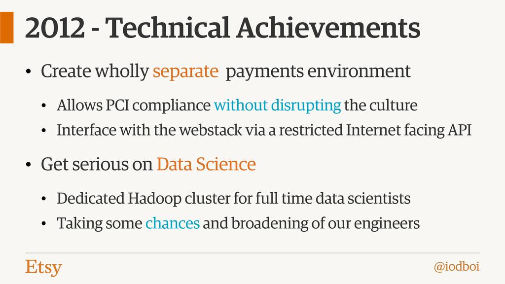@iodboi 2012 - Technical Achievements • Create ...
