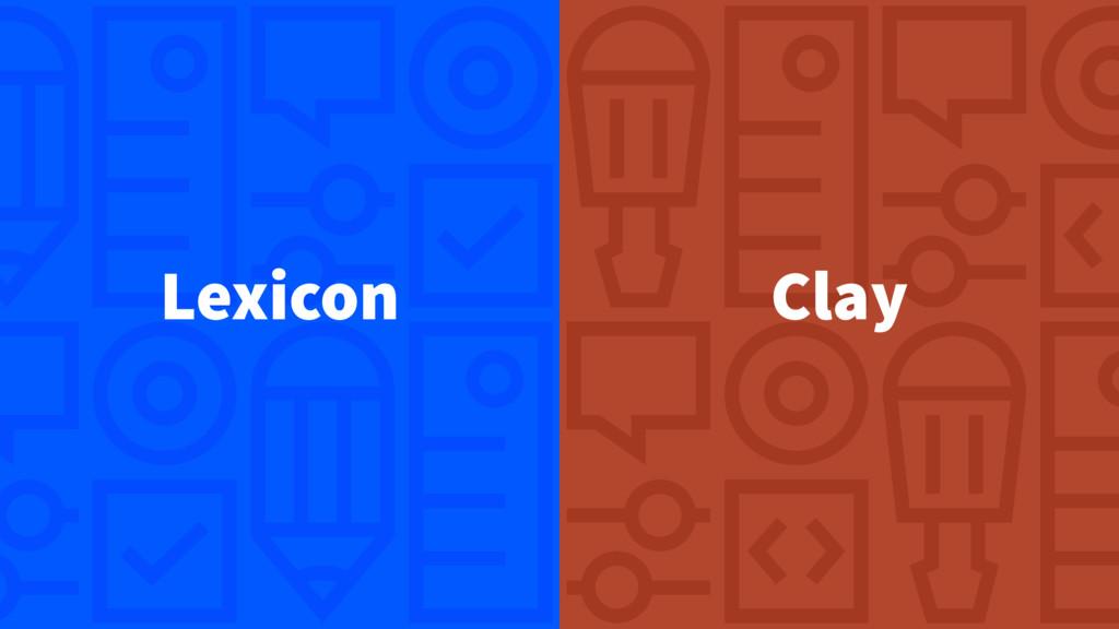 Lexicon Clay