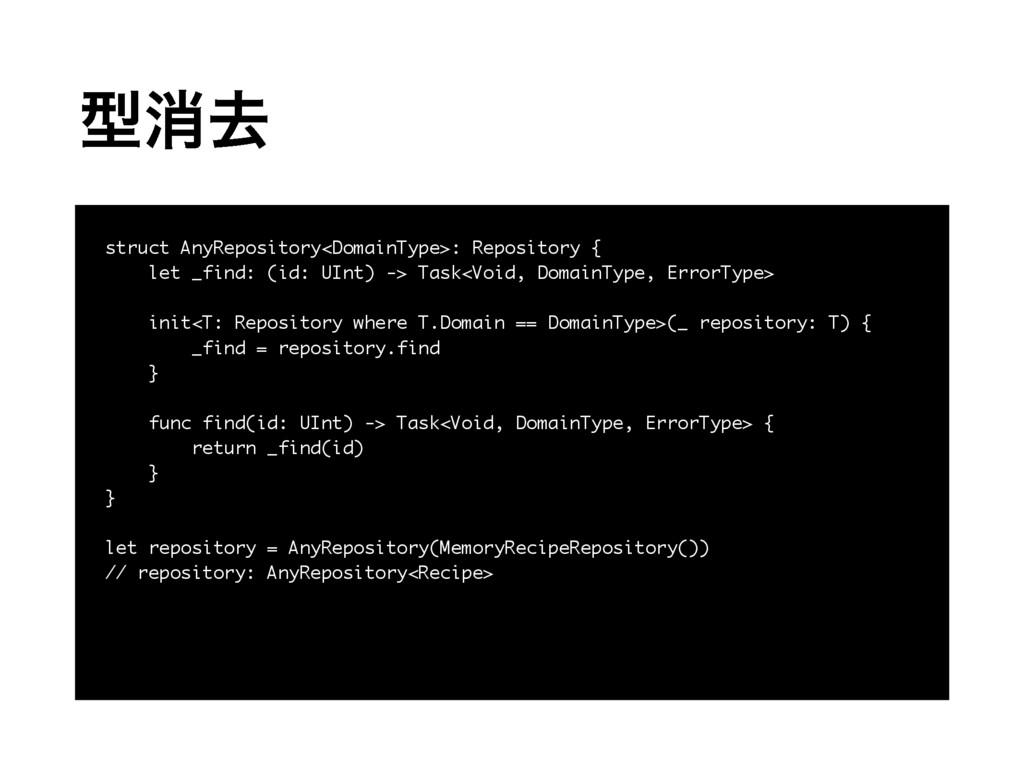 ܕফڈ struct AnyRepository<DomainType>: Repositor...