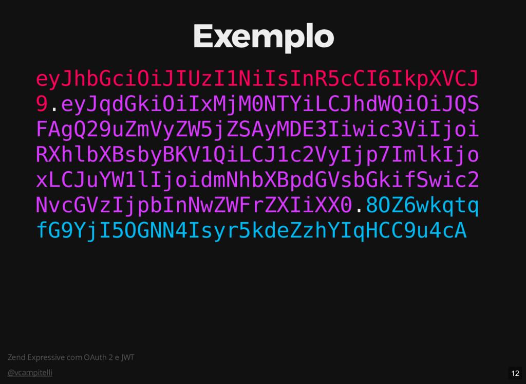 Zend Expressive com OAuth 2 e JWT @vcampitelli ...