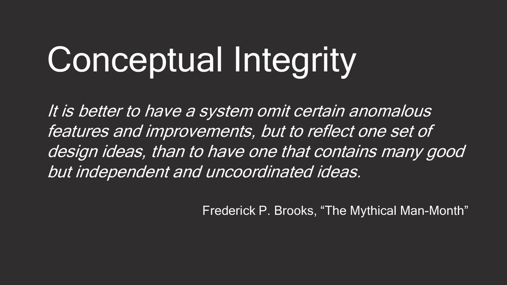It is better to have a system omit certain anom...