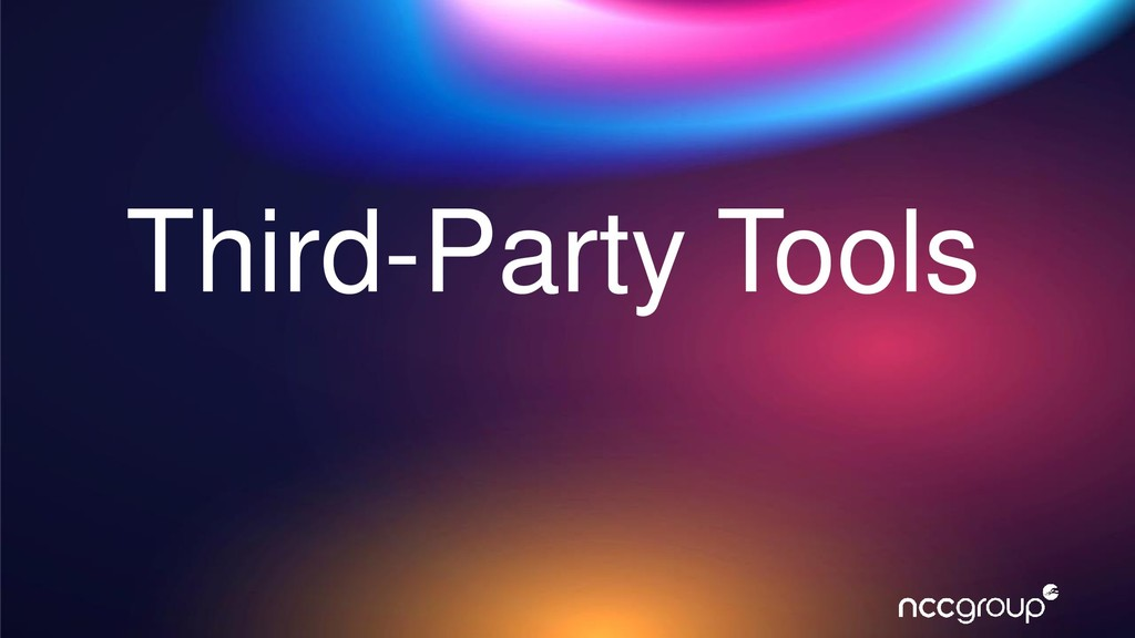 Third-Party Tools