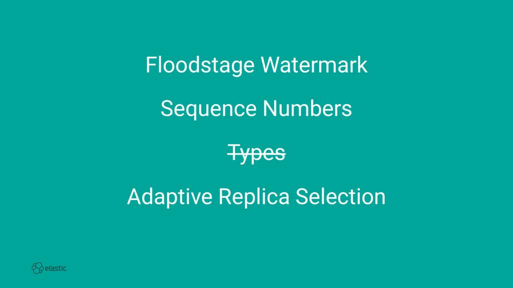 Floodstage Watermark Sequence Numbers Types Ada...
