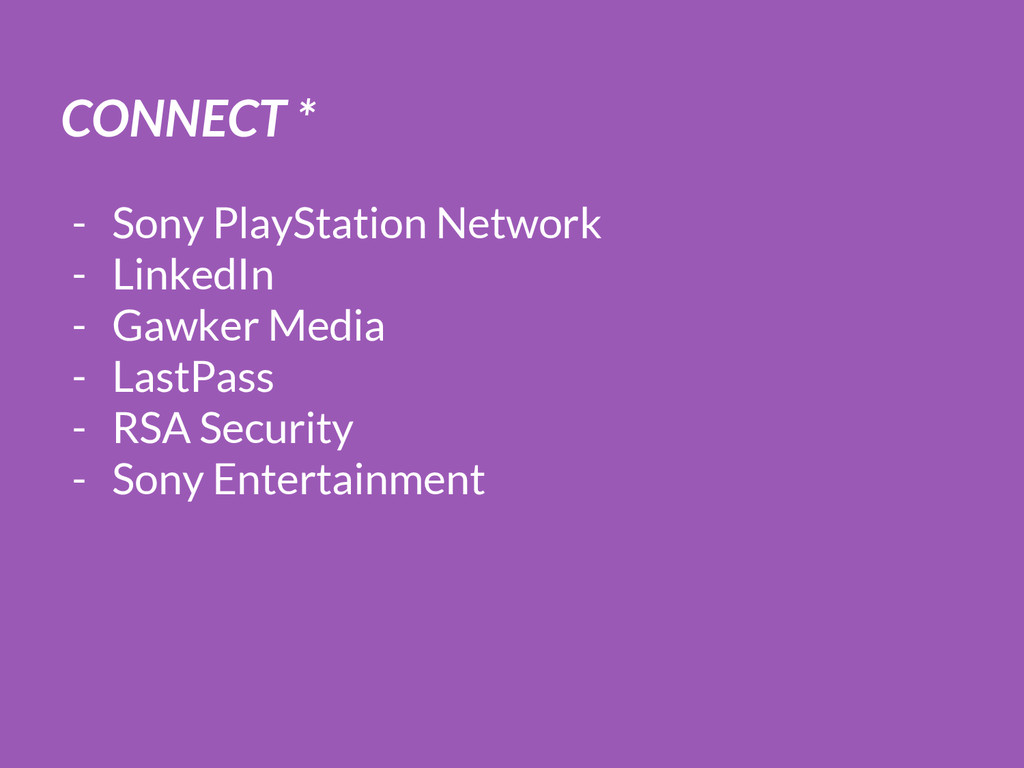 CONNECT * - Sony PlayStation Network - LinkedIn...