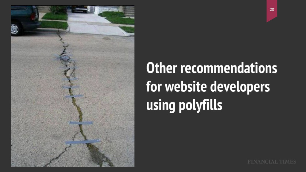Other recommendations for website developers us...