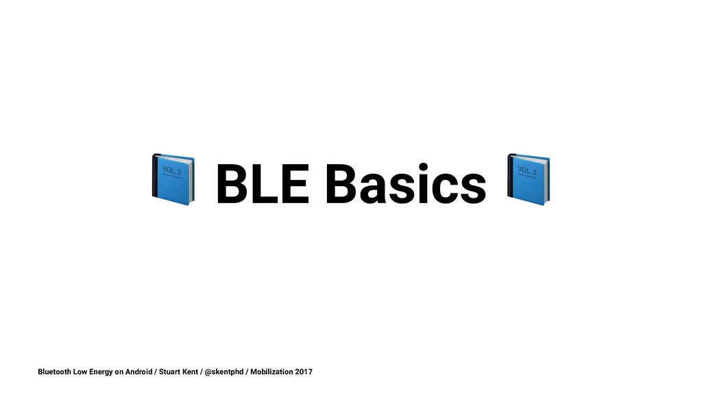 ! BLE Basics Bluetooth Low Energy on Android / ...