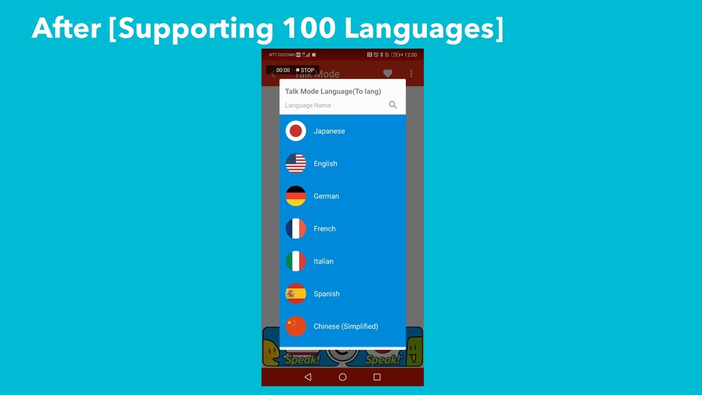 After [Supporting 100 Languages]