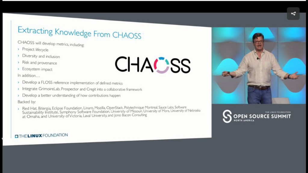 /chaoss Community Health Analytics Open Source ...