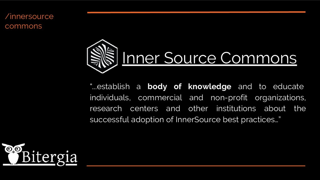 "/innersource commons Inner Source Commons ""...e..."