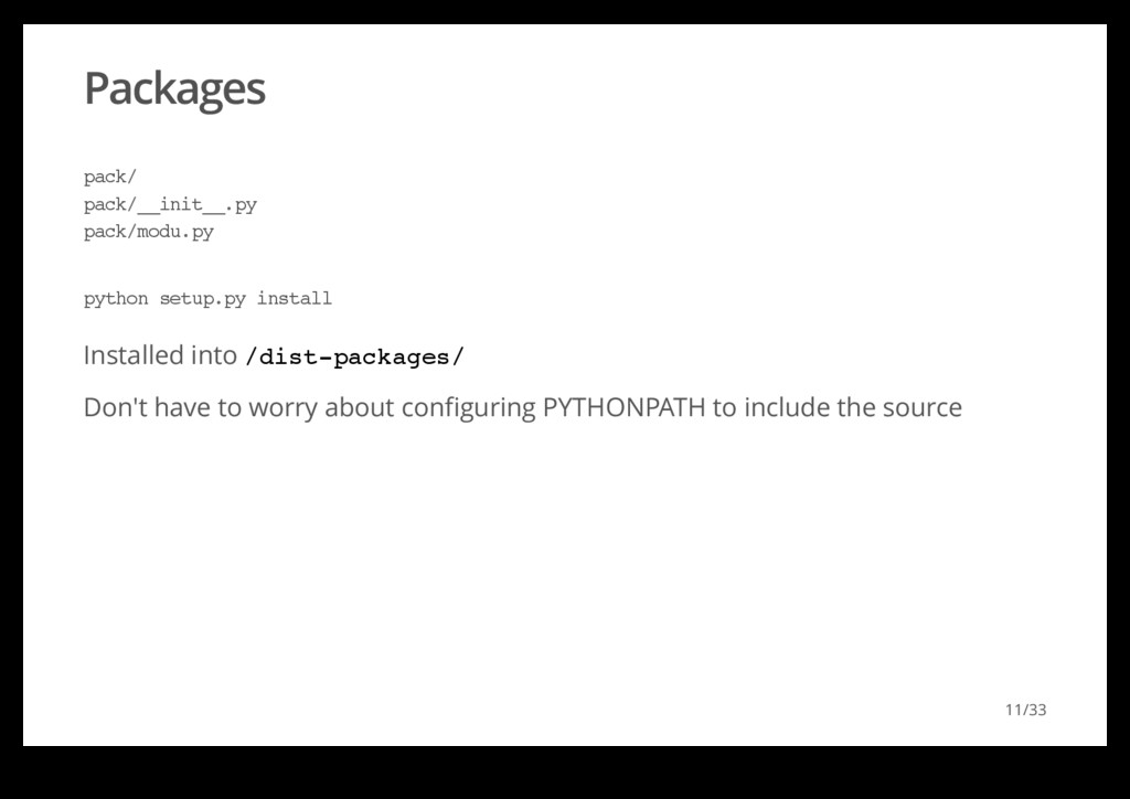 Packages Installed into /dist-packages/ Don't h...