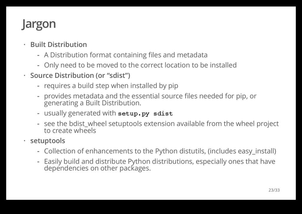 Jargon Built Distribution Source Distribution (...