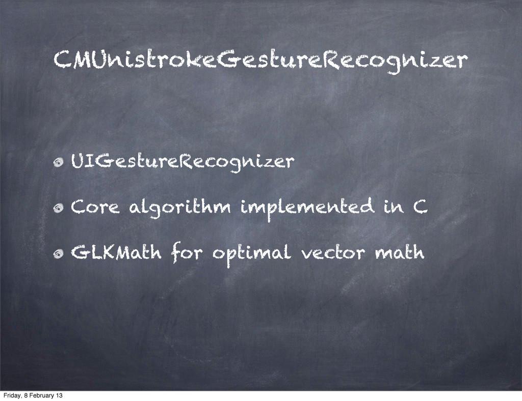 CMUnistrokeGestureRecognizer UIGestureRecognize...