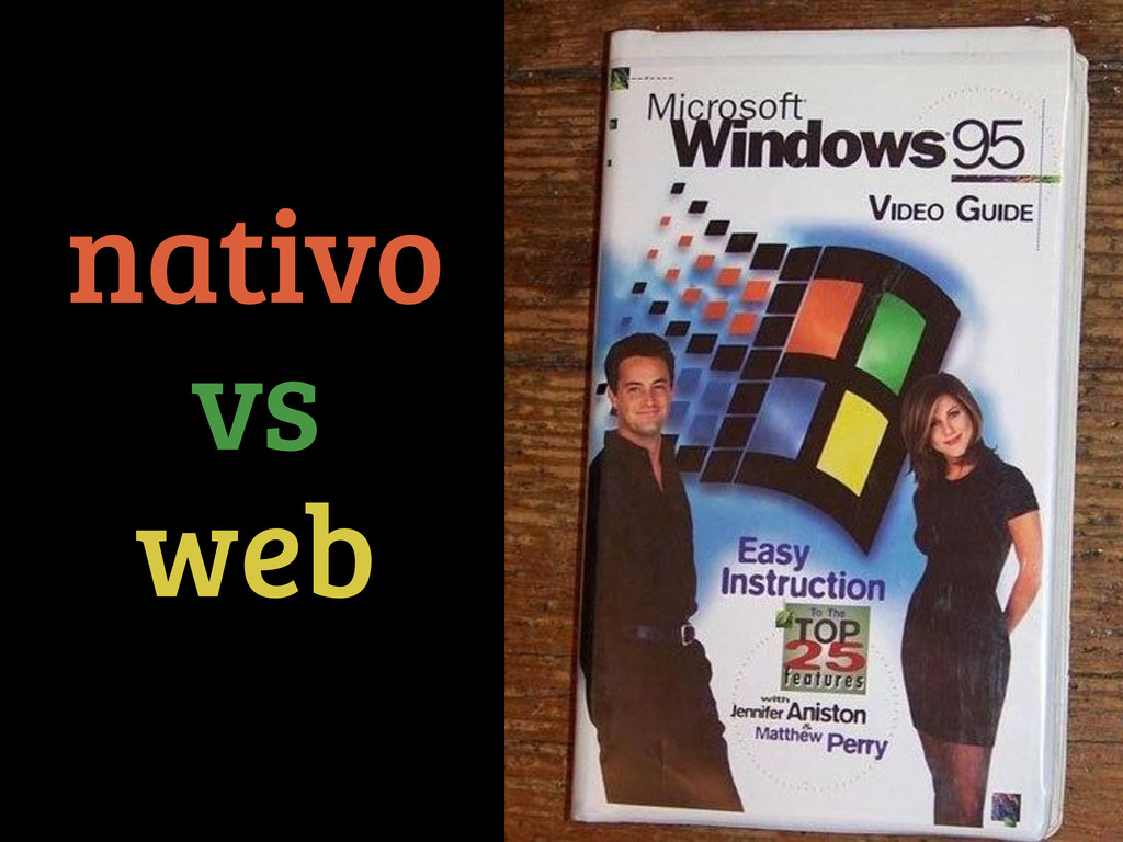 nativo vs web