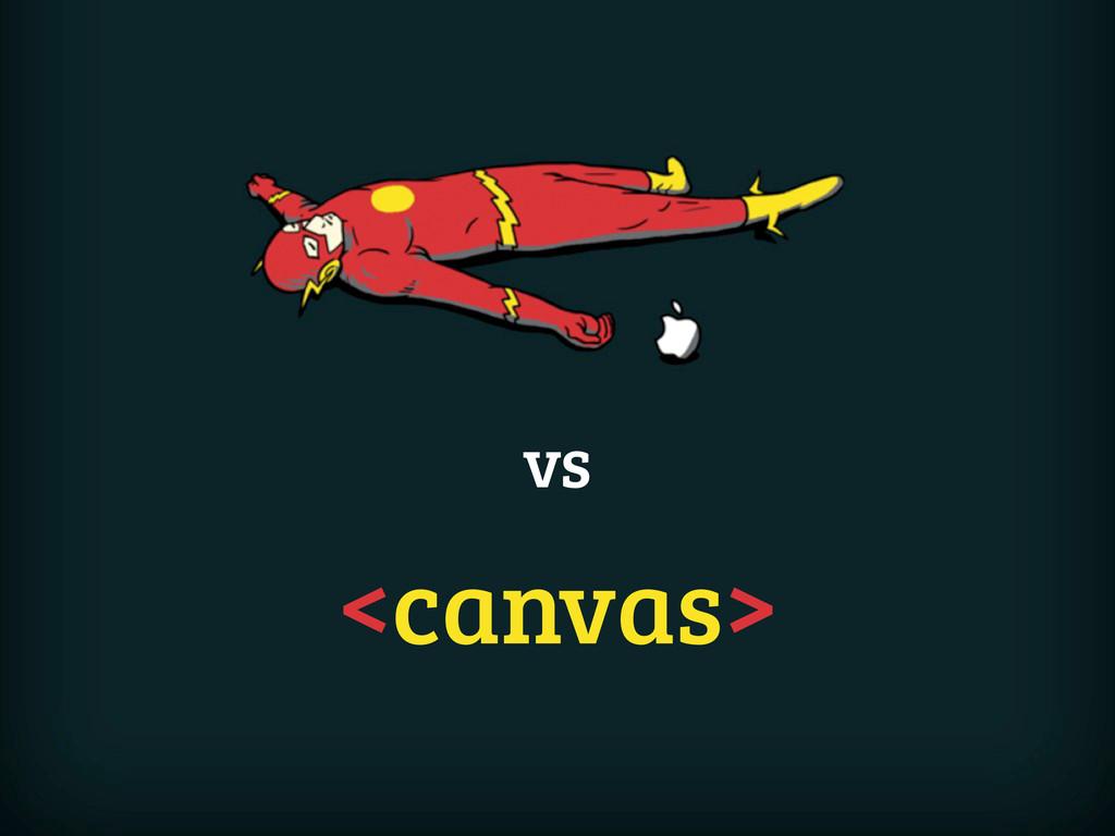 vs <canvas>