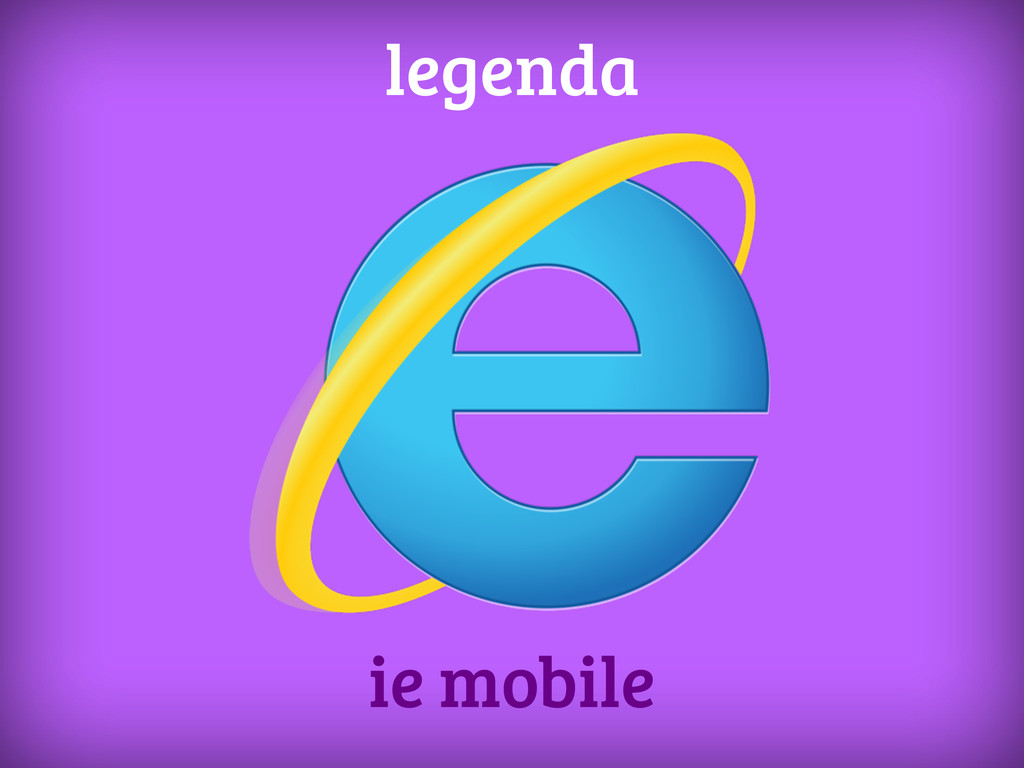 ie mobile legenda