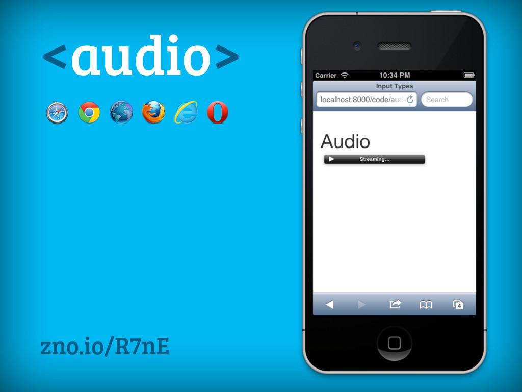 <audio> zno.io/R7nE