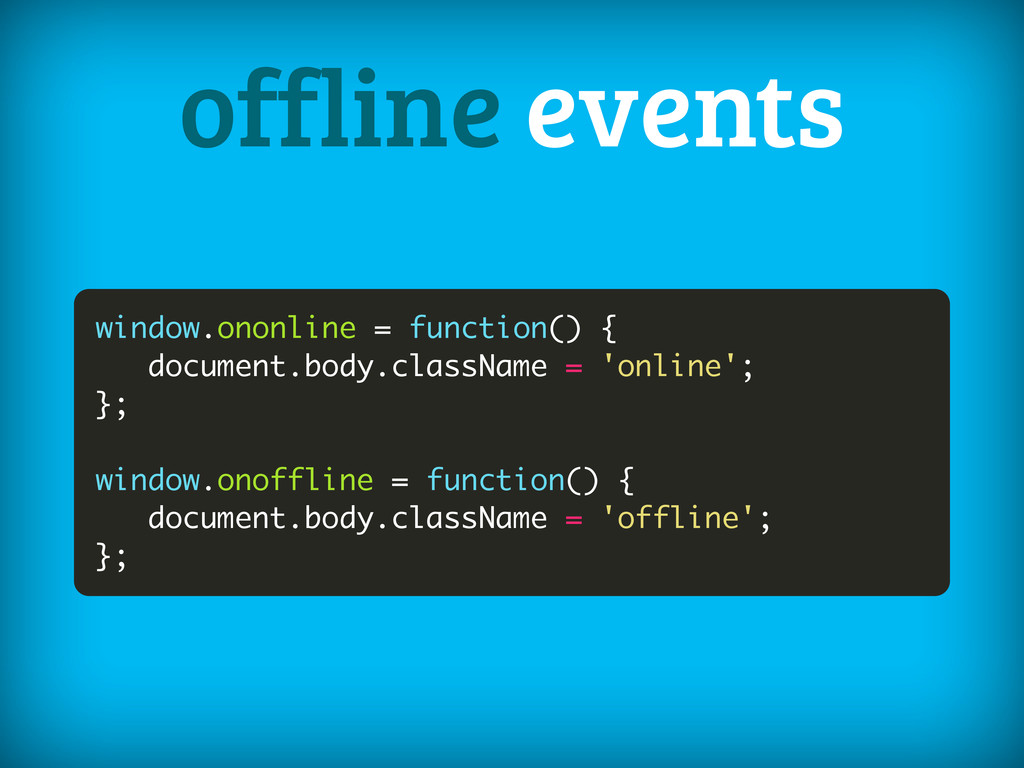 window.ononline = function() { document.body.cl...
