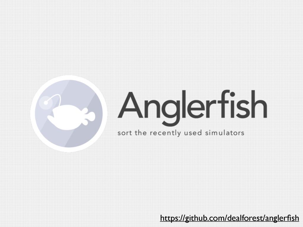 https://github.com/dealforest/anglerfish