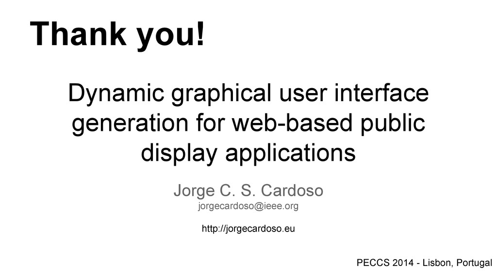 Dynamic graphical user interface generation for...