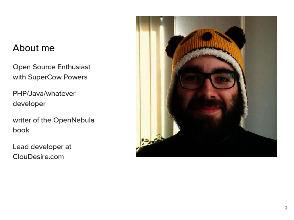 About me Open Source Enthusiast with SuperCow P...