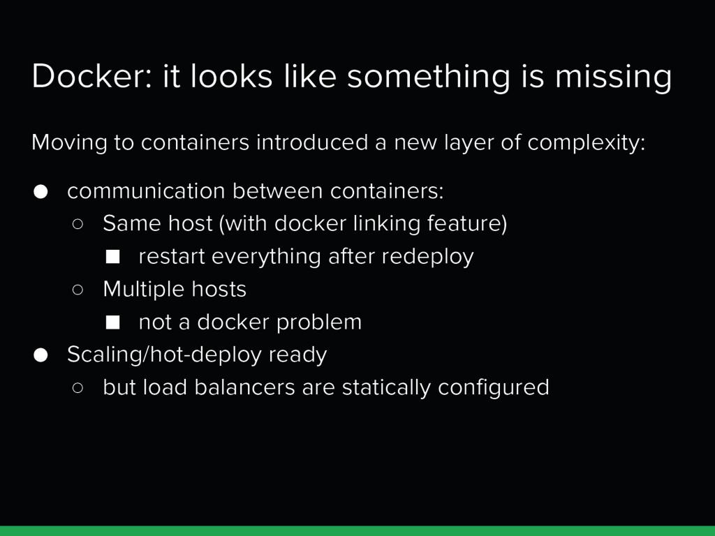 Docker: it looks like something is missing Movi...