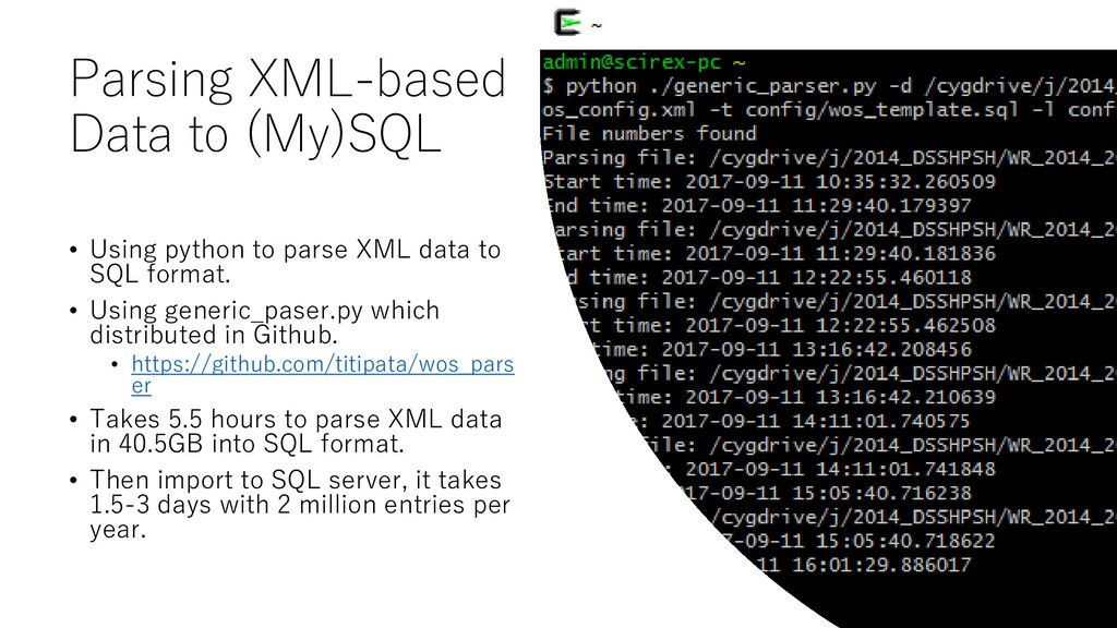 Parsing XML-based Data to (My)SQL • Using pytho...